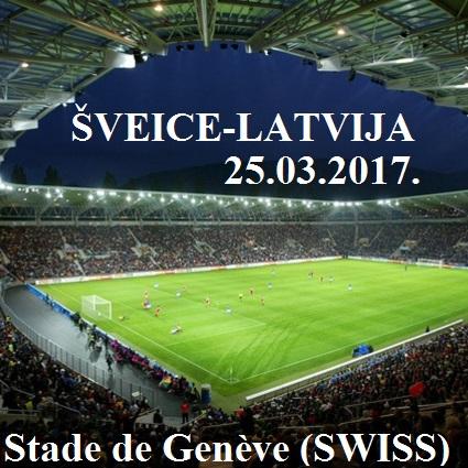 LFFA aicina fanus pieteikties biļetēm uz Latvijas izlases spēli 25. martā Ženēvā