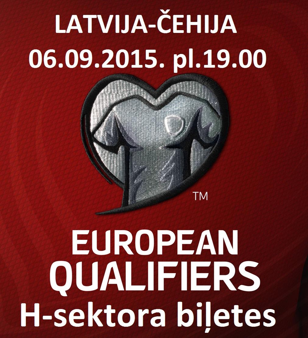 01.08.2015. sākas  biļešu rezervācija uz mājas spēli pret Čehiju.
