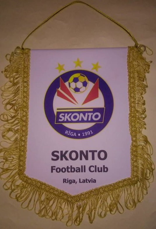 SKONTO FC lielie vimpeļi