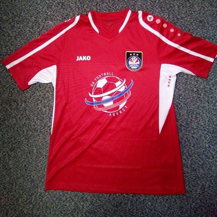 Skonto FC spēļu krekls (sarkans)