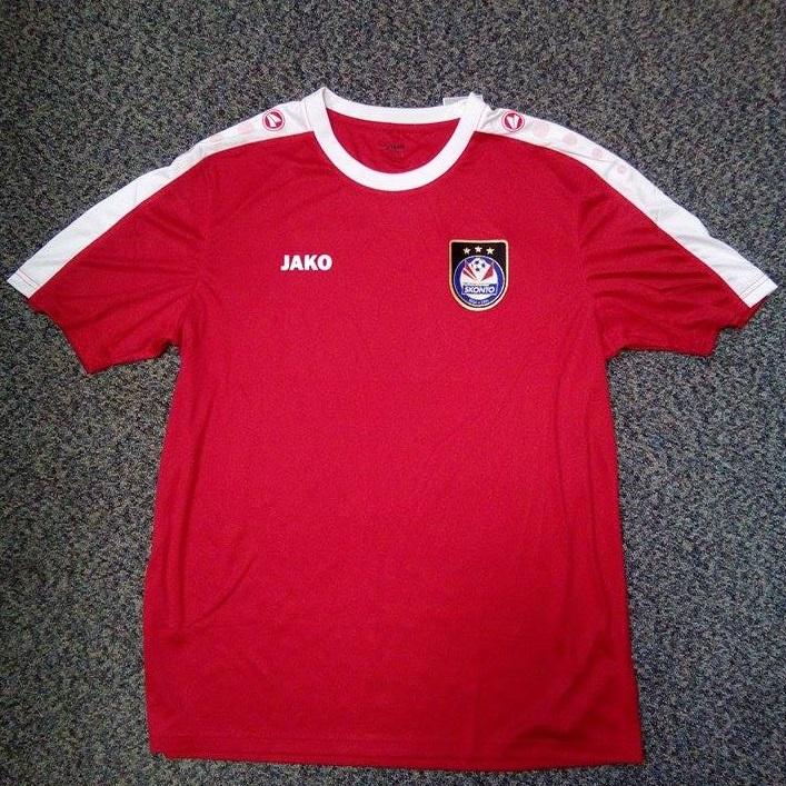 Skonto FC fanu krekls (sarkans)