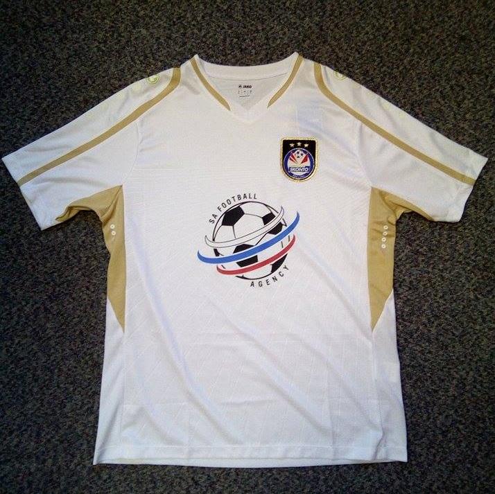 Skonto FC spēļu krekls (balts)