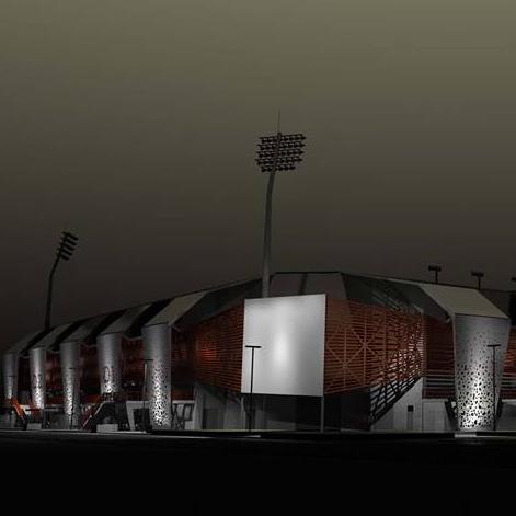 Rīgas būvvaldē saskaņots Kr. Barona ielas 116 A stadiona rekonstrukcijas būvprojekts