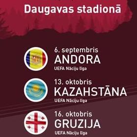 Sākas biļešu rezervācija UEFA Nāciju līgas spēlēm.