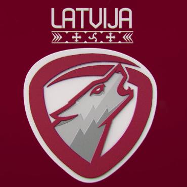 Vilks - Latvijas futbola izlases jaunā identitāte